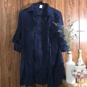 Ralph Lauren button down shirt dress